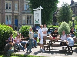 c) students in abon garden 1