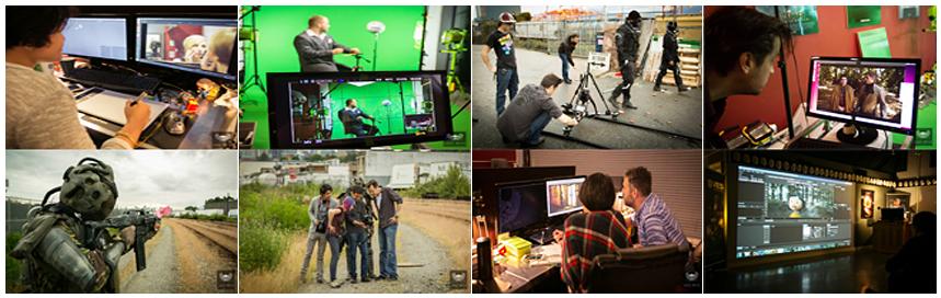 เรียนซัมเมอร์ต่างประเทศ Lostboys Studios: The School of Visual Effects Canada