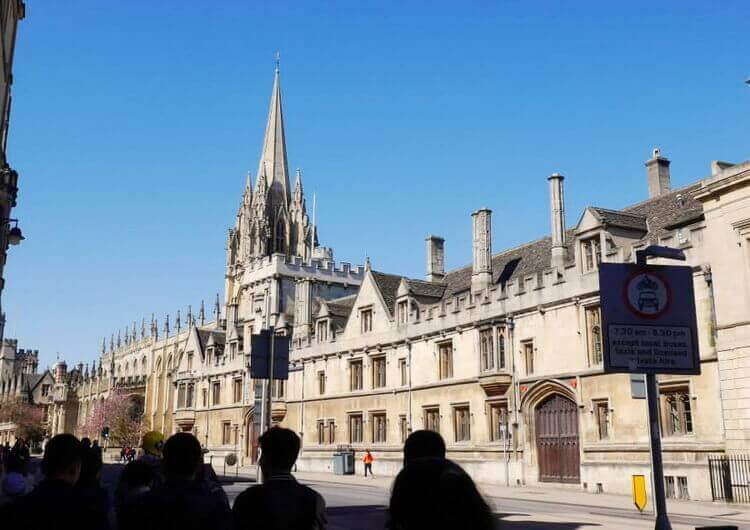 study in Oxford UK
