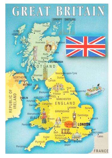 UK_England_Map