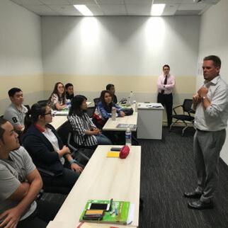 เรียนซัมเมอร์ต่างประเทศ English course at SSTC Institute Singapore