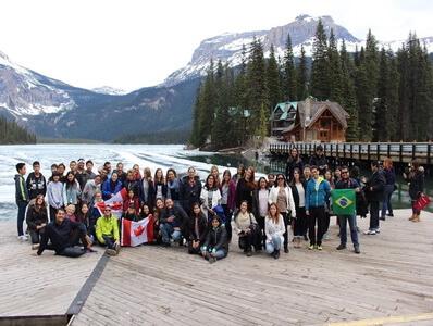 เรียนซัมเมอร์ต่างประเทศ Summer camp trip 2016 at Rocky mountains