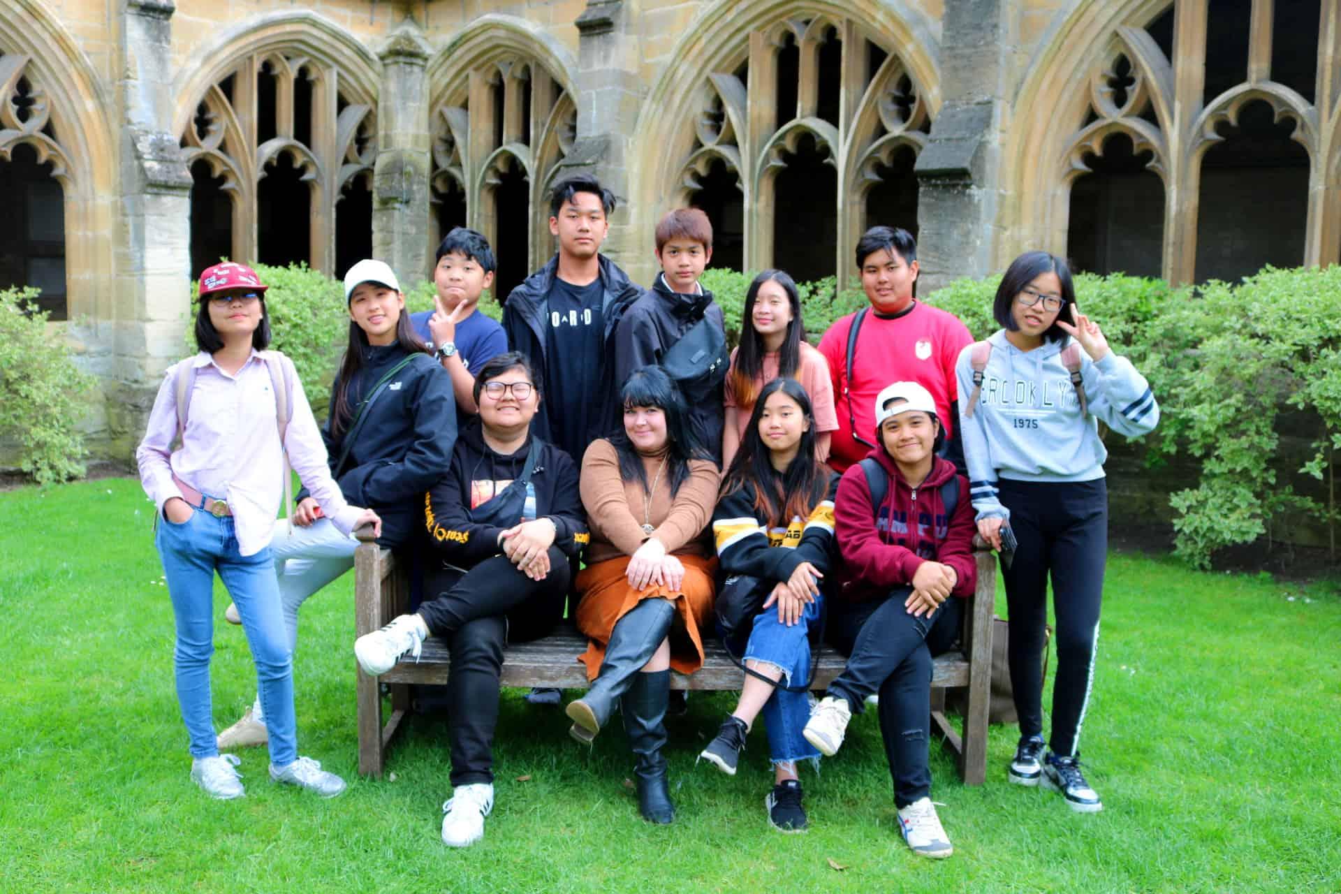 เรียนซัมเมอร์ต่างประเทศ CES English summer camp 2018 in Oxford UK